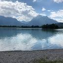 Forggensee mit Blick auf Neuschwanstein