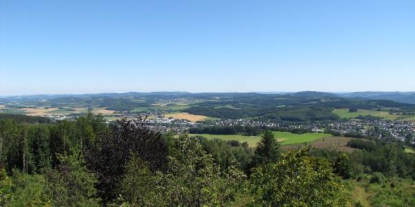 Ausblick vom Quitmannsturm