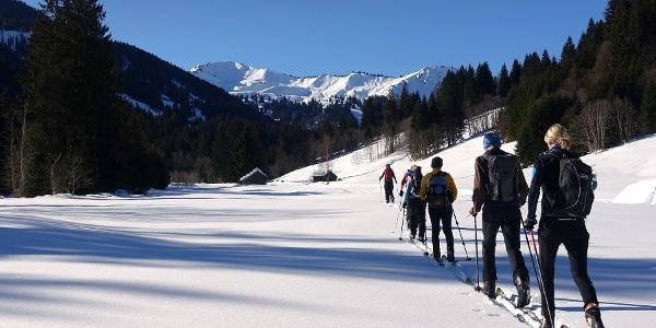 Ideales Skiwandergelände im Ostertal