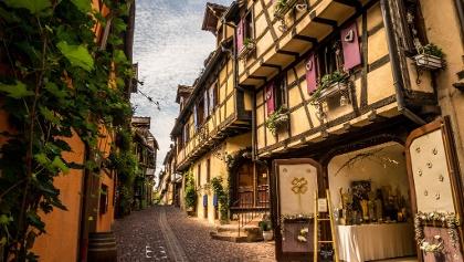 Riquewihr's Fairytale Streets