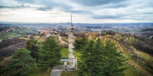 View Tower in Gonjače Offers Panoramic Views