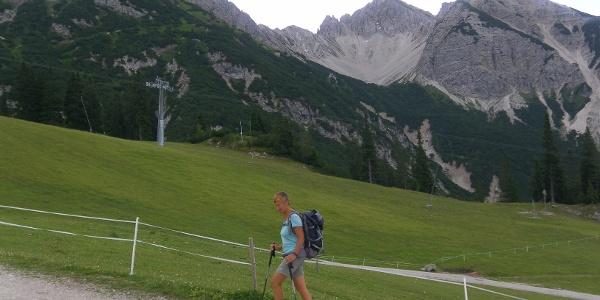 Seefelder Spitze, Reither Spitze und Härmelekopf von der Rosshütte