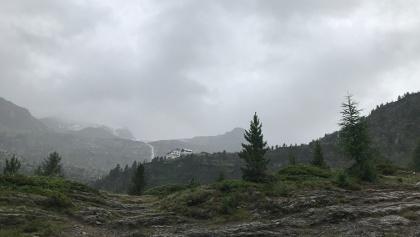 Blick zur Zufallhütte