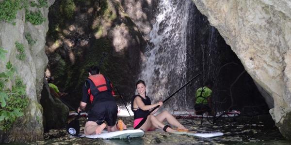 SUP: La Cascata del Ponale