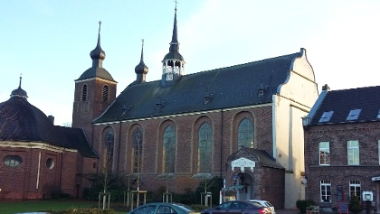 Kloster Kamp/Waldparkplatz