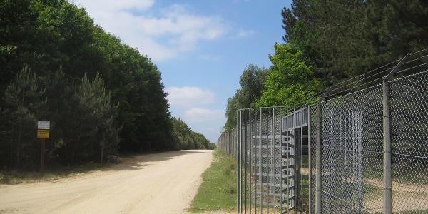 Infotafel NSG Brachter Wald