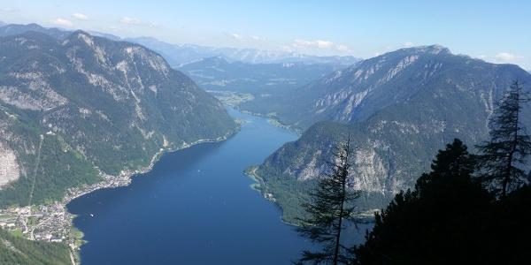 Ausblick aus dem Klettersteig