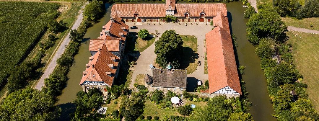 Rittergut Remeringhausen, Luftbild