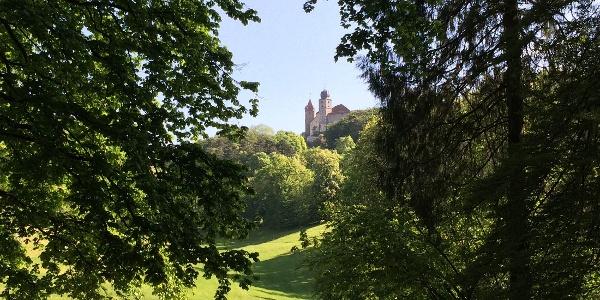 Hofgarten Coburg | Blick auf Veste
