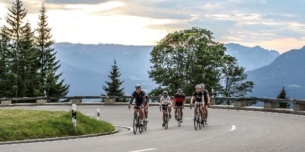 Mit dem Rennrad auf der Rossfeld Panoramastraße
