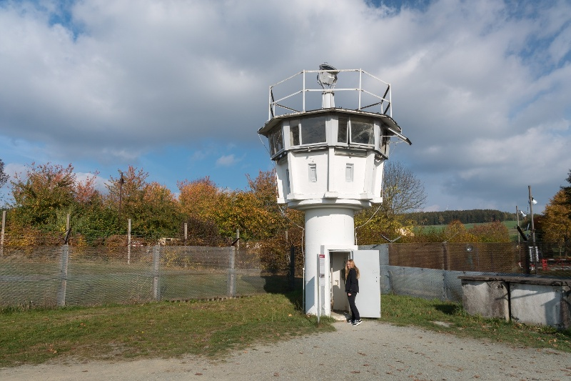 Grenzbefestigung in Mödlareuth