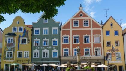 Kirchplatz in Weilheim