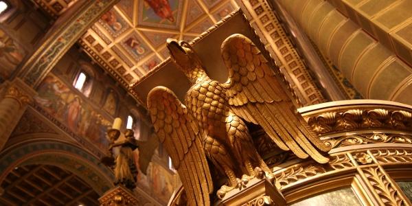 A Szent Péter- és Szent Pál-székesegyház (Pécsi bazilika) díszes belső tere