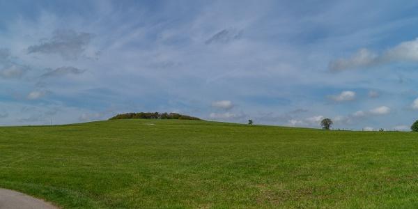 Aussicht über Felder