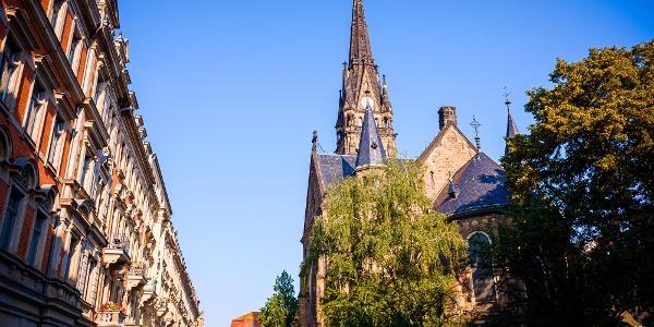 Martin-Luther-Kirche in der Dresdner Neustadt