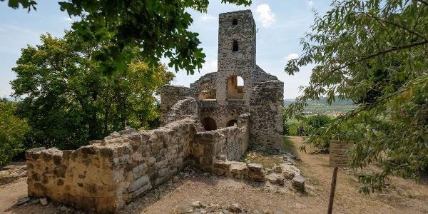 A Szent Balázs templomrom