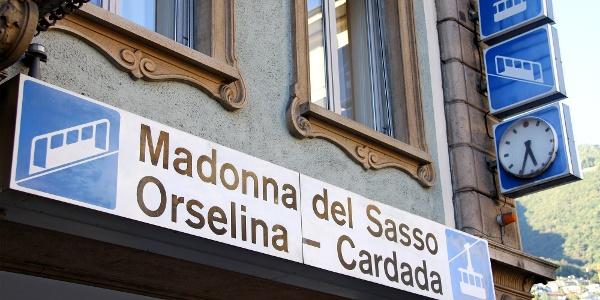 Standseilbahn Locarno–Madonna del Sasso–Orselina.