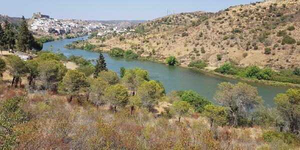 Mértola and the Guadiana river
