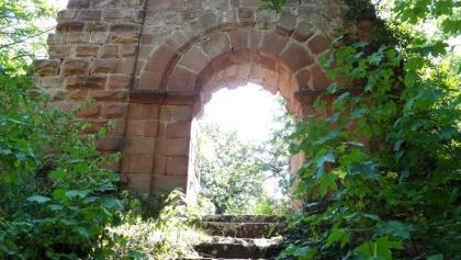 Burgruine Schlosseck, Portal