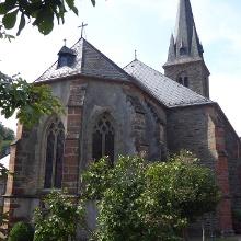 Die Pfarrkirche in Büdlich, absolut sehenswert