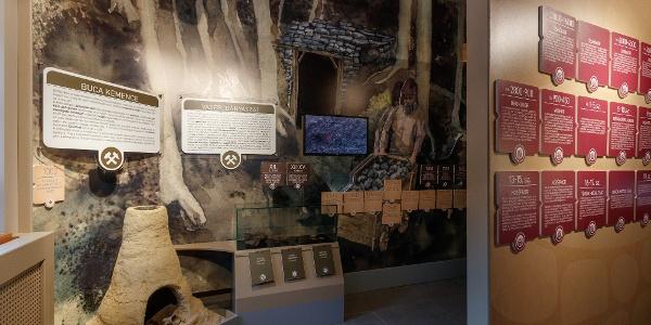 A Királyréti Kirándulóközpont múzeuma bemutatja a környékbeli ércbányászat múltját is