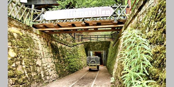 Schmittenstollen - Eingang