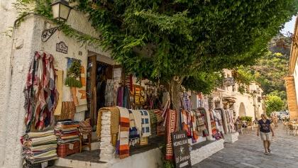 Pampaneira Fabric Shop