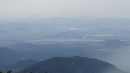 Oreums (volcanic cones) around Jeju Island