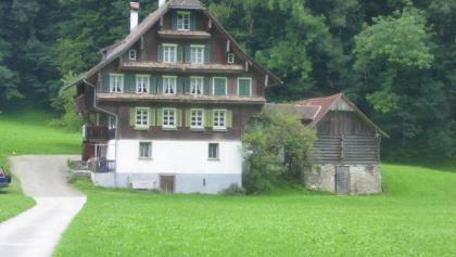 Typisches Nidwaldner Haus