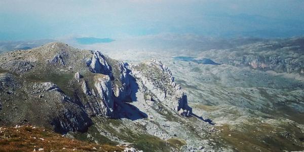 VIew from Drhtar peak