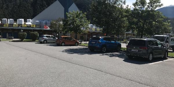 Parkplatz Spotzentrum Imst