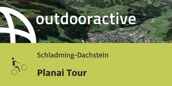mountain bike ride in Schladming-Dachstein: Planai Tour
