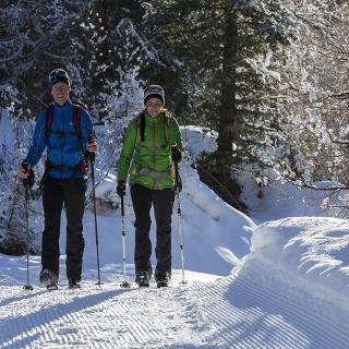 Schneeschuhwandern in Umhausen