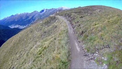 Zusammenfassung der Trails von der Bergstation bis Davos