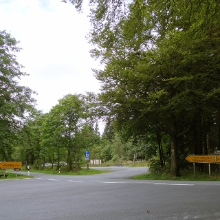 """Wanderparkplatz """"Großes Bildchen"""" auf der Hunau"""