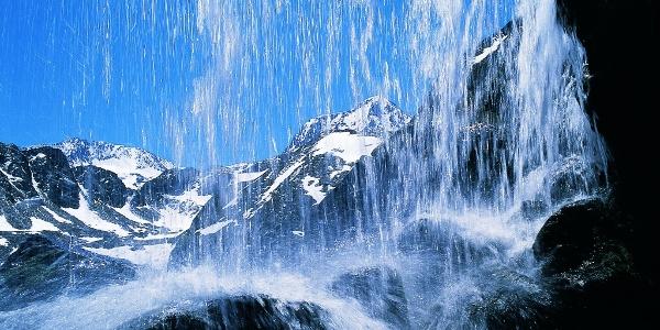 Wasserfall in der Glamergrube
