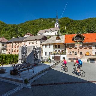 Kropa village centre