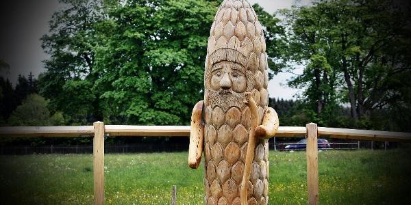 Holzsägearbeit Kustel