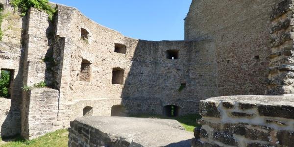 Burg Lichtenberg - Innenhof