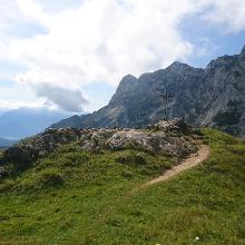 Gipfelkreuz Kleiner Heubergkopf