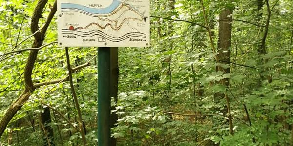 Übersichtstafel - alt - Willi-Lohbach-Weg