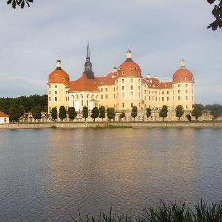 Schloss Moritzburg von Südwesten