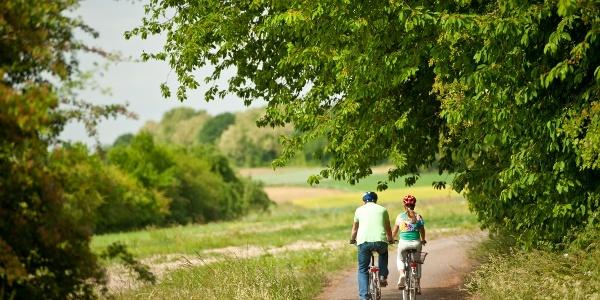 Auf dem Lahntalradweg durch das Gleiberger Land bei Gießen