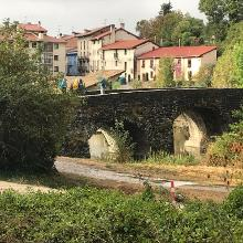 Bridge into Ezcabarte