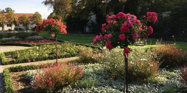 Der Rosengarten am Schloss Rheda