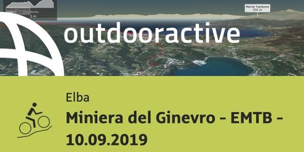 Mountain bike in Elba: Miniera del Ginevro - EMTB - 10.09.2019