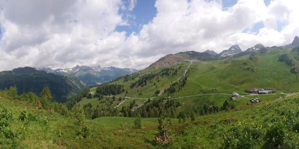 View towards Idalp