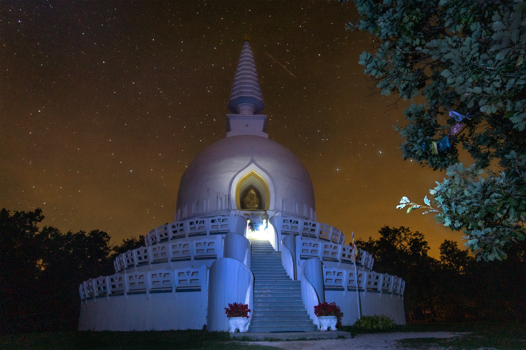 Zalaszántói buddhista sztúpa • Egyházi létesítmény » TERMÉSZETJÁRÓ ...