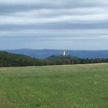 Blick auf Burg Ohlbrück