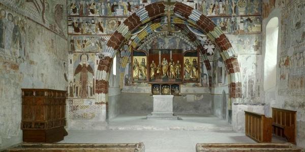 Kirche Sogn Gieri Chor